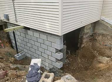 Residential Foundation Replacement In Bloomfield Hills MI